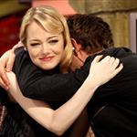 Emma Stone and Andrew Garfield appear on El Hormiguero TV show in Madrid 119908