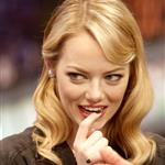Emma Stone and Andrew Garfield appear on El Hormiguero TV show in Madrid 119909