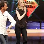 Emma Stone and Andrew Garfield appear on El Hormiguero TV show in Madrid 119911