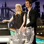 Emma Stone and Andrew Garfield appear on El Hormiguero TV show in Madrid 119915
