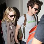 Emma Stone and Andrew Garfield at LAX 116828
