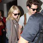 Emma Stone and Andrew Garfield at LAX 116829