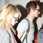Emma Stone and Andrew Garfield at LAX 116832