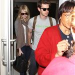 Emma Stone and Andrew Garfield at LAX 116833