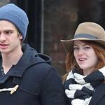 Emma Stone and Andrew Garfield shopping together in Chelsea and the West Village area of New York  101944