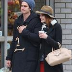 Emma Stone and Andrew Garfield shopping together in Chelsea and the West Village area of New York  101949