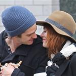 Emma Stone and Andrew Garfield shopping together in Chelsea and the West Village area of New York  101956