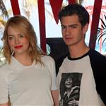 Emma Stone and Andrew Garfield attend The Amazing Spiderman photo call at Summer of Sony 4 Spring Edition held at the Ritz Carlton Hotel in Cancun, Mexico 111500