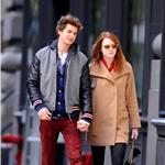 Emma Stone and Andrew Garfield hold hands in New York  98771
