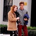 Emma Stone and Andrew Garfield hold hands in New York  98772