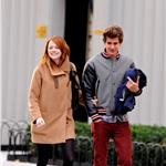 Emma Stone and Andrew Garfield hold hands in New York  98774