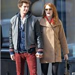 Emma Stone and Andrew Garfield hold hands in New York  98785