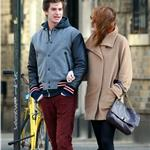 Emma Stone and Andrew Garfield hold hands in New York  98788