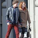 Emma Stone and Andrew Garfield hold hands in New York  98792