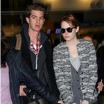 Andrew Garfield and Emma Stone at JFK airport in NYC 103839