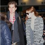 Andrew Garfield and Emma Stone at JFK airport in NYC 103840