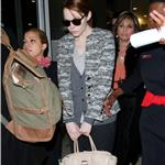 Andrew Garfield and Emma Stone at JFK airport in NYC 103843