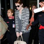 Andrew Garfield and Emma Stone at JFK airport in NYC 103844