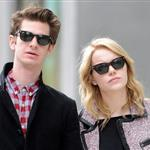 Emma Stone and Andrew Garfield head to lunch in New York City 110080