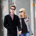 Emma Stone and Andrew Garfield head to lunch in New York City 110085