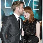 Ryan Gosling  Emma Stone at Crazy, Stupid, Love premiere in NYC 90338