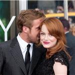 Ryan Gosling  Emma Stone at Crazy, Stupid, Love premiere in NYC 90339