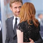 Ryan Gosling Emma Stone at Crazy, Stupid, Love premiere in NYC 90341