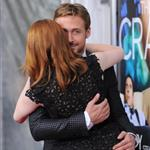 Ryan Gosling Emma Stone at Crazy, Stupid, Love premiere in NYC 90342