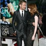 Ryan Gosling Emma Stone at Crazy, Stupid, Love premiere in NYC 90343