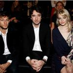 Emma Stone and Alex Pettyfer front row at Louis Vuitton show in Paris 81085