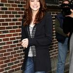 Emma Stone at Letterman  71243