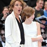 Emma Thompson and her daughter Gaia at the Men in Black 3 UK premiere 114837