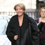 Emma Thompson promotes Nanny McPhee and the Big Bang with shorter hair cut 57380