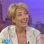 Emma Thompson promotes Nanny McPhee and the Big Bang with shorter hair cut 57384