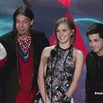 Ezra Miller, Emma Watson and Logan Lerman MTV's '2012 MTV Movie Awards'  116399
