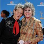 Temple Grandin with her mother Emmy Awards 2010  67837