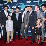 Kevin Connolly, Adrian Grenier, Jeremy Piven, Kevin Dillon and Jerry Ferrara Final season premiere of HBO's Entourage 90384