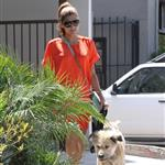 Eva Mendes takes Ryan Gosling's dog to the salon 122470