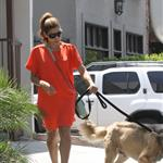 Eva Mendes takes Ryan Gosling's dog to the salon 122473