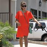 Eva Mendes takes Ryan Gosling's dog to the salon 122474