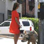 Eva Mendes takes Ryan Gosling's dog to the salon 122477