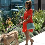 Eva Mendes takes Ryan Gosling's dog to the salon 122483