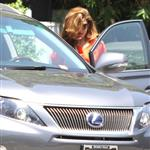 Eva Mendes takes Ryan Gosling's dog to the salon 122485