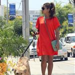 Eva Mendes takes Ryan Gosling's dog to the salon 122489