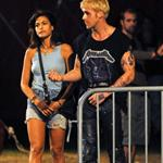 Eva Mendes and Ryan Gosling look hot together on the set of The Place Beyond The Pines 92357