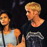 Eva Mendes and Ryan Gosling look hot together on the set of The Place Beyond The Pines 92358