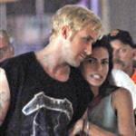 Eva Mendes and Ryan Gosling look hot together on the set of The Place Beyond The Pines 92370