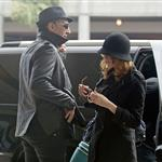 Evan Rachel Wood and Marilyn Manson  at LAX 59564