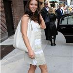 Evangeline Lilly on Letterman to promote Lost finale  60703