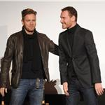 Ewan McGregor and Micahel Fassbender attend the AFI FEST 2011 Presented By Audi secret screening of Haywire 97964